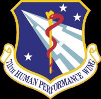 711th-Human Performance Wing logo
